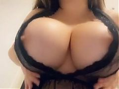 Anastasiya Kvitko moving her big tits #6